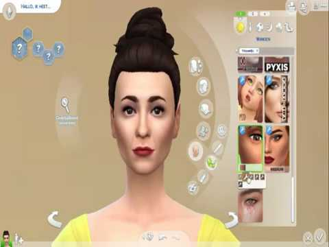 CAS Sims 4: Hecate Hardbroom / Raquel Cassidy in The Worst Witch 2017