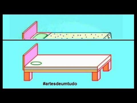 Como Desenhar Como Desenhar Uma Cama Como Desenhar Com