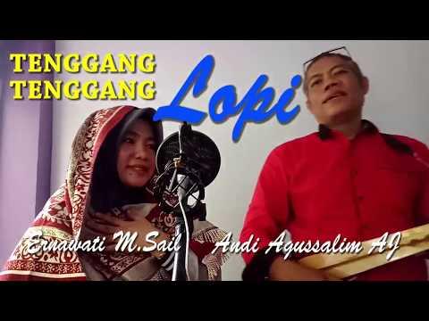 LAGU MANDAR KECAPI BUGIS - Tenggang-Tenggang Lopi by Andi Agussalim AJ dan Ernawati M Sail