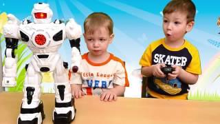 Роботы. Танцует говорит и слушает команды. Видео для детей(Роботы. Сегодня к нам в гости пришел Ваня со своим роботом Электроном. Он покажет нам на что способны соврем..., 2017-02-22T04:55:39.000Z)
