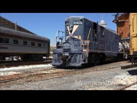 Baltimore & Ohio Railroad Museum Rail Operations 25/Aug./2015