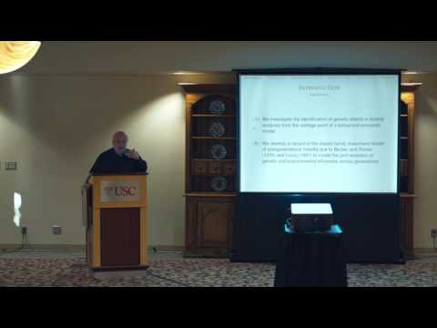 Conference on Genetics and Social Science: Steven Durlauf