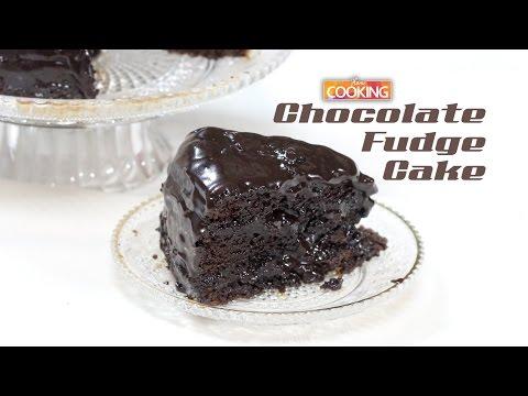 Easy Chocolate Fudge Cake |  How To Make Chocolate Fudge Cake Recipe