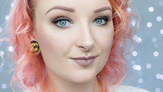 Matowy makijaż w odcieniach brązu - dzienne smokey eyes ♡ Red Lipstick Monster ♡