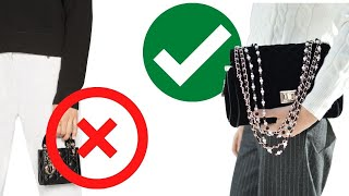 FRENCH CHIC SOLUTIONS HANDBAG SIZE COMPARISON
