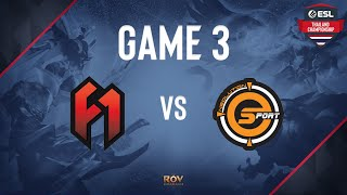 The FirstOne vs Neolution Esport Game 3   ESL Thailand Championship - ROV