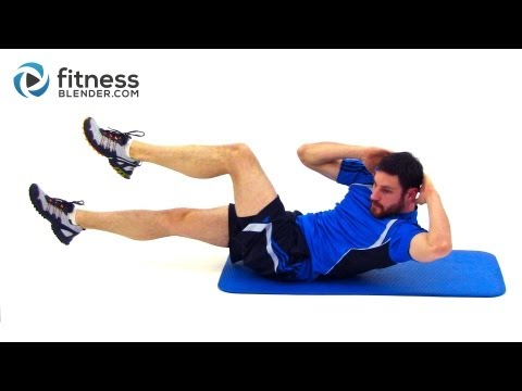 8 Minute Abs Workout Routine At Home Core Workout