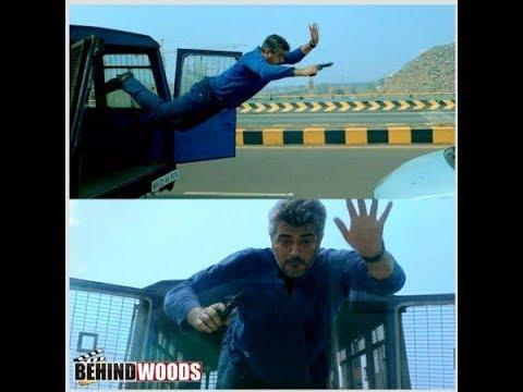 Thala Ajith real stunts