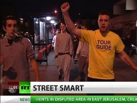Street Justice: UK vigilantes stand up as police fails to combat riots
