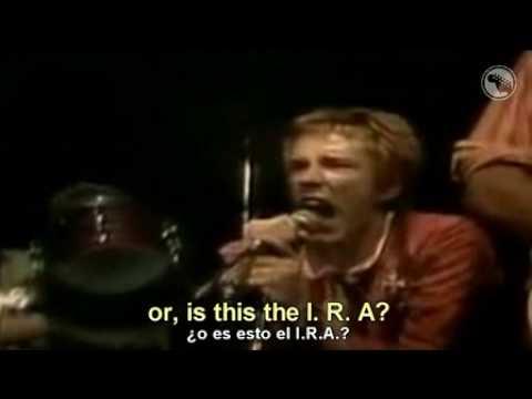 Sex Pistols    Anarchy In The U.K -subtitulada al español y al ingles