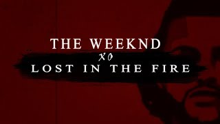 Gesaffelstein The Weeknd Lost In The Fire Lyric Lyrics.mp3