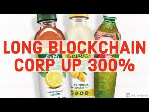 WHAT HAPPENED WITH LONG BLOCKCHAIN CORP / LONG ISLAND ICED TEA? Are we in a bubble?