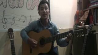 Cô gái vót chông - Guitar Van Anh   mot chang duong 30