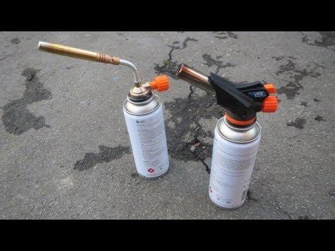 газовые горелки сравнение