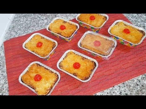 basboussa-aux-qtayefs---recette-facile---مطبخ-أم-وليد-oum-walid