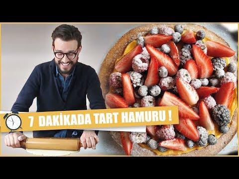 7 DAKİKADA TART HAMURU YAPIMI   Danilo Zanna