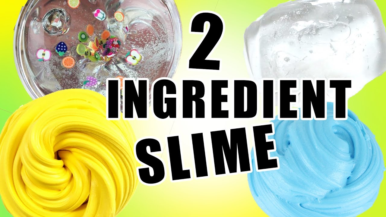 2 ingredient slime recipes tested how to make slime without 2 ingredient slime recipes tested how to make slime without borax ccuart Choice Image