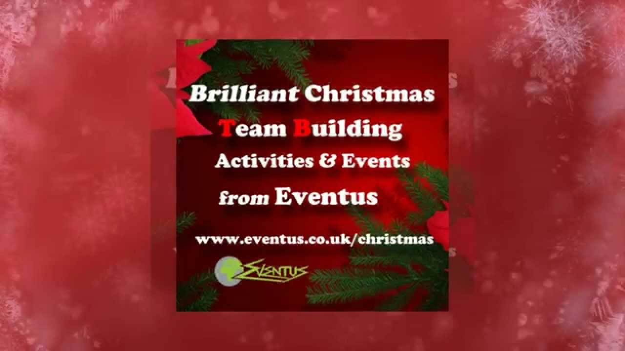 Get Festive With Fun Christmas Team Building Activities Youtube