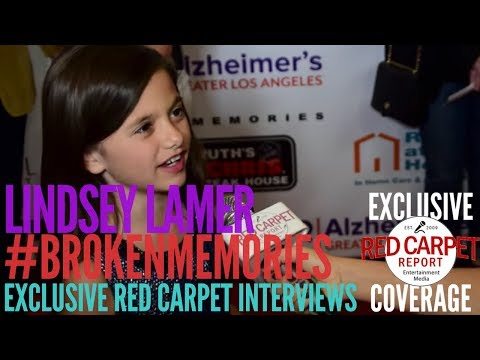 Lindsey Lamer ed at Broken Memories ALZGLA benefit premiere BrokenMemories