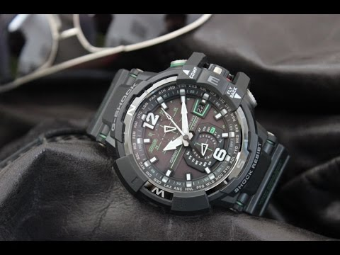 Casio G-Shock Aviation Gravity Defier Review (GWA1100-1A3)