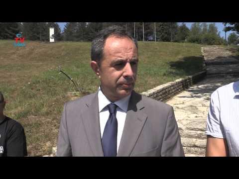 Daniel Srb sa delegacijom u Srbu