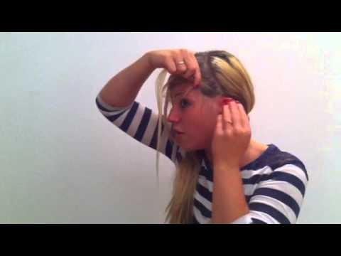 Frisur Zum Dirndl Haar Flechten Für Das Oktoberfest YouTube
