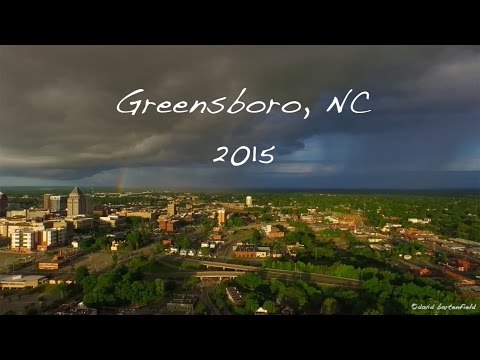 Greensboro, NC 2015 [Shot with a drone]