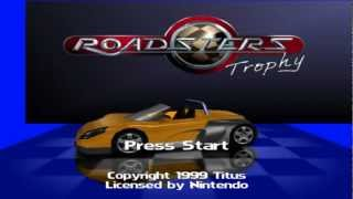 Roadsters Trophy N64 display mode w/ Expansion Pak