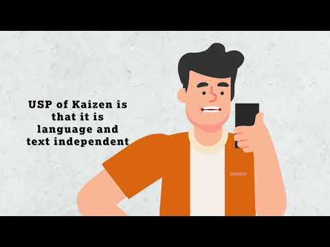 Kaizen Voice Biometrics Solution [ animation]