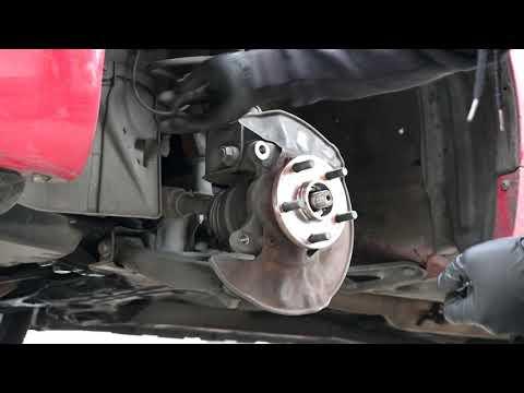 2005-2010 Scion TC wheel bearing replacement