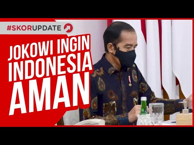 JOKOWI INGIN INDONESIA AMAN DARI COVID-19 UNTUK PIALA DUNIA U-20