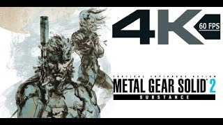 Metal Gear Solid 2: Substance (PC) - PART 00 - Tanker (Prologue) - 4K 60FPS (No Commentary)