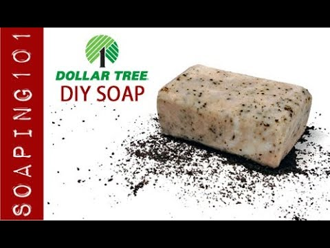 DIY Dollar Tree Mocha Soap - Easy Beginner Soap Recipe | Soaping101