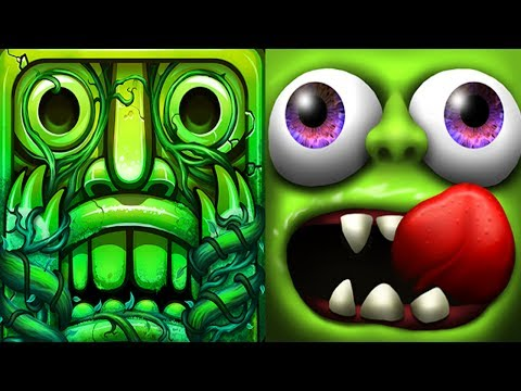 Temple Run 2 Lost Jungle VS Zombie Tsunami Android iPad iOS Gameplay HD