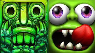Temple Run 2 Lost Jungle VS Zombie Tsunami Android iPad iOS Gameplay HD