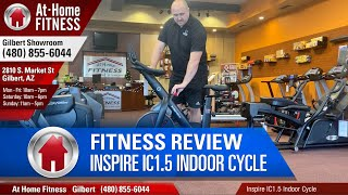 Inspire Ic1 5 Indoor Cycle At Home Fitness Gilbert Arizona Youtube