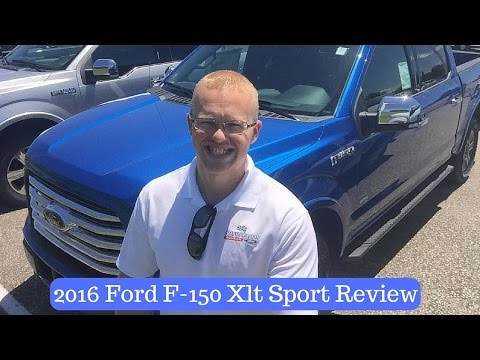 2016 Ford F-150 XLT Sport Interior Review by Alex Buker at Andy Mohr Ford Plainfield Indiana IN