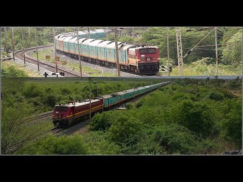 The Most Beautiful Train On Indian Railways | HUMSAFAR EXPRESS | Kamakhya - Bangalore | [Full HD]