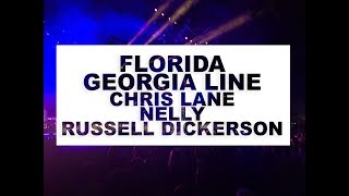 Florida Georgia Line, Chris Lane Q&A,  Nelly and Russell Dickerson Q&A / Backstage