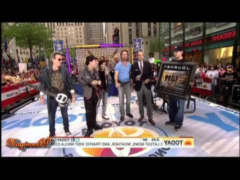 """[HD] Journey / Arnel Pineda """"City of Hope"""" [Full] @ NBC Today Show = 7/29/11"""