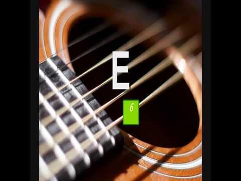 6-String Online Guitar Tuner - Standard A-440 Tuning