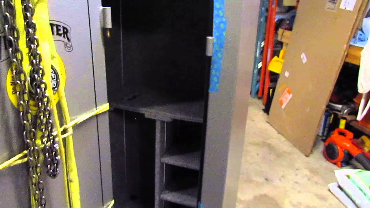 Winchester Gun Safe TS 22 Door Removal Door Lift YouTube
