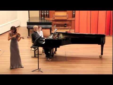 Malgorzata Loboda Paderewski violin sonata 1st movement