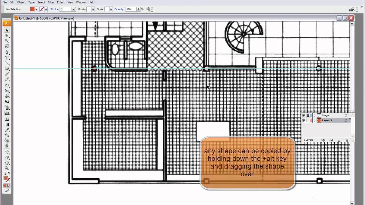 Architectural Diagramming Using Simple Illustrator