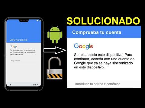 Eliminar Cuenta De Google 2020│Quitar Cuenta De Google Olvidada│Saltar Cuenta De Google Android