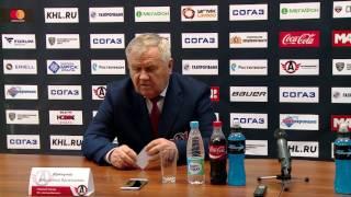 """Пресс-конференция: """"Автомобилист"""" - """"Металлург"""", Нк (14.02.2017)"""