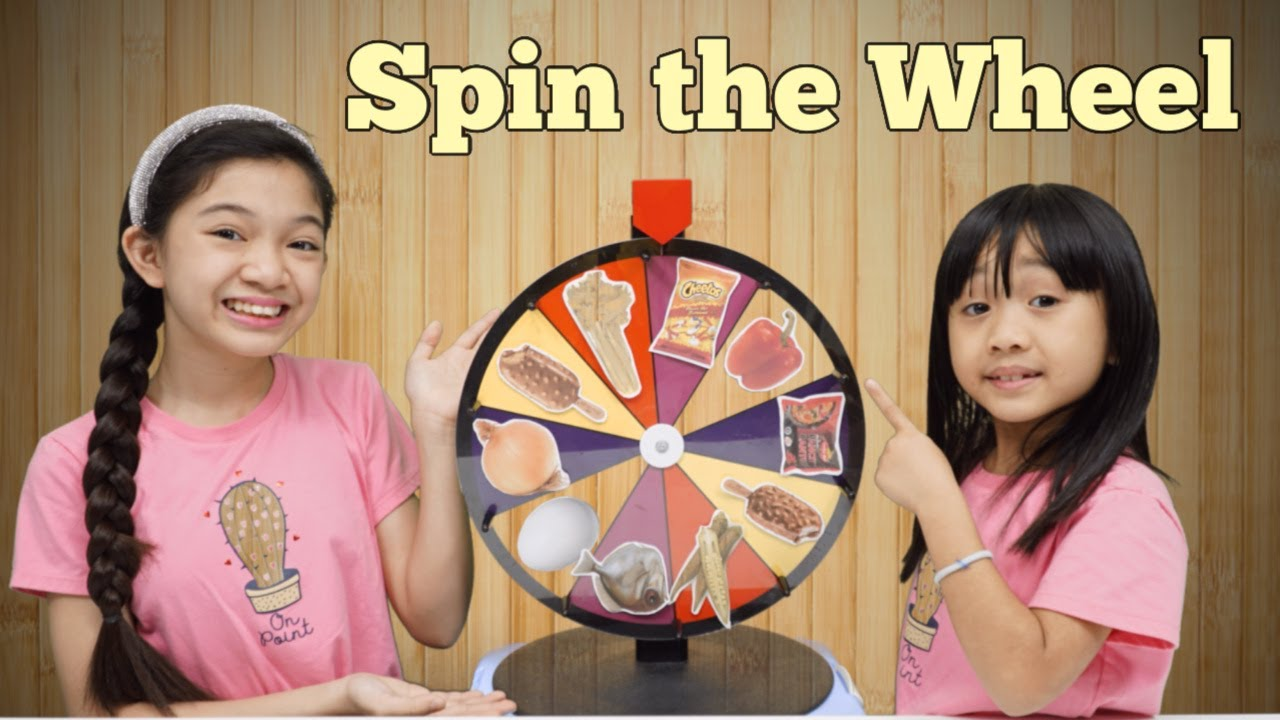Download Spin the Wheel and Eat Whatever it Lands On Challenge