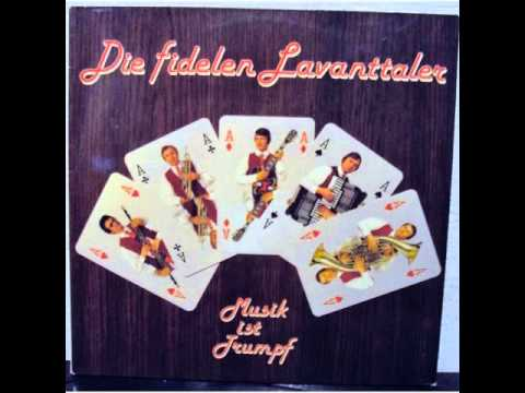 Die Orig. fidelen Lavanttaler - Zurück zur Heimat ( 1978 )
