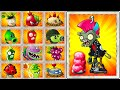 Plants vs Zombies 2 Every Premium Plant vs Punk Zombie - Max Power UP Challenge in PVZ 2 Primal