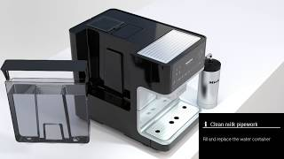How to Clean the Milk Pipework of Your Miele Coffee Machine